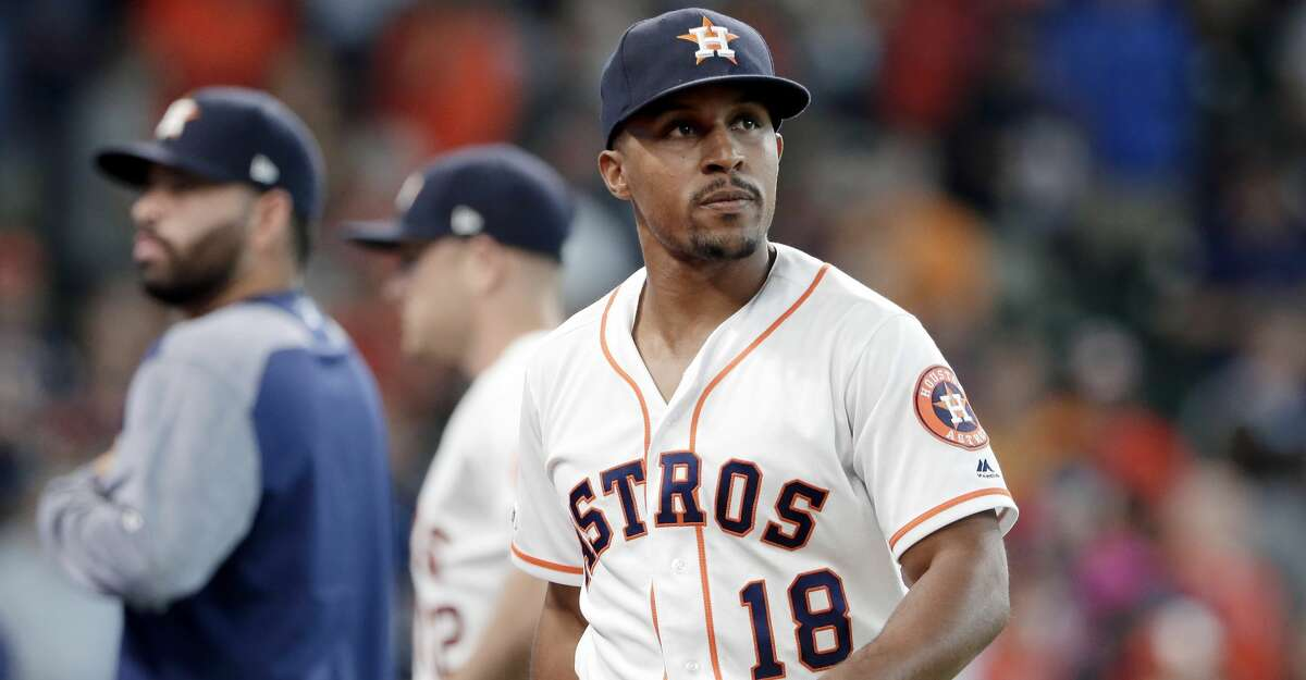 PHOTOS: Astros game-by-game Houston Astros left fielder Tony Kemp (18) leaves the field a baseball game against the Oakland Athletics Wednesday, July 24, 2019, in Houston. (APPhoto/Michael Wyke) Browse through the photos to see how the Astros have fared in each game this season.