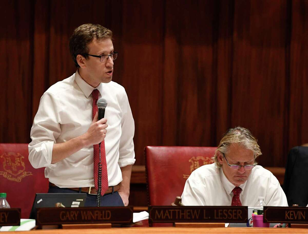 State Sen Matt Lesser, D-Middletown