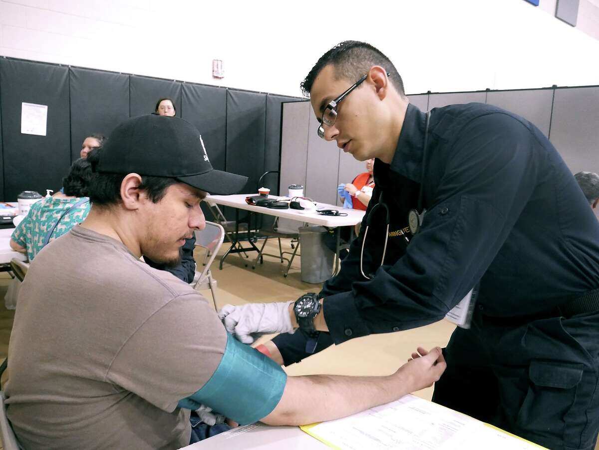 Laredoans took advantage of free medical screenings, immunizations for children and vision and dental care as Operation Lone Star 2019 was held last week at the United South High School Ninth Grade Campus.