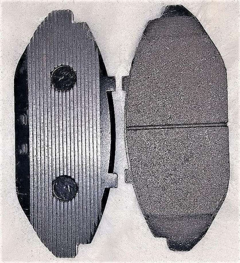 This photo shows a working model of Horton's Cool-Wave Brakes.