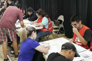 Laredoans took advantage of free medical screenings, immunizations for children and vision and dental care as Operation Lone Star 2019 was held last week at the United South High School ninth-grade campus.