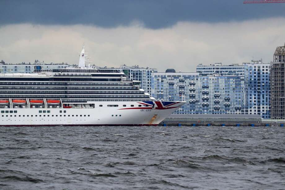 FILE PHOTO: A cruise ship operated by P&O Cruises. Photo: Peter Kovalev/Peter Kovalev/TASS
