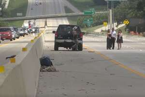 A crash on I-45 occurred near Conroe on Saturday afternoon, according to the Montgomery County Police Reporter.