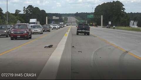 Child killed in crash on I-45 near Conroe - Houston Chronicle