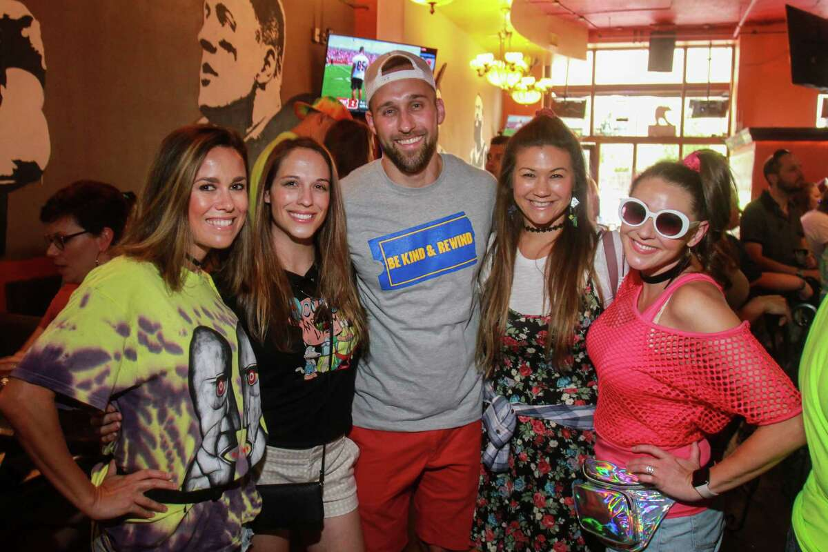 Downtown Houston's 90's Pub Crawl hosted by Dustin