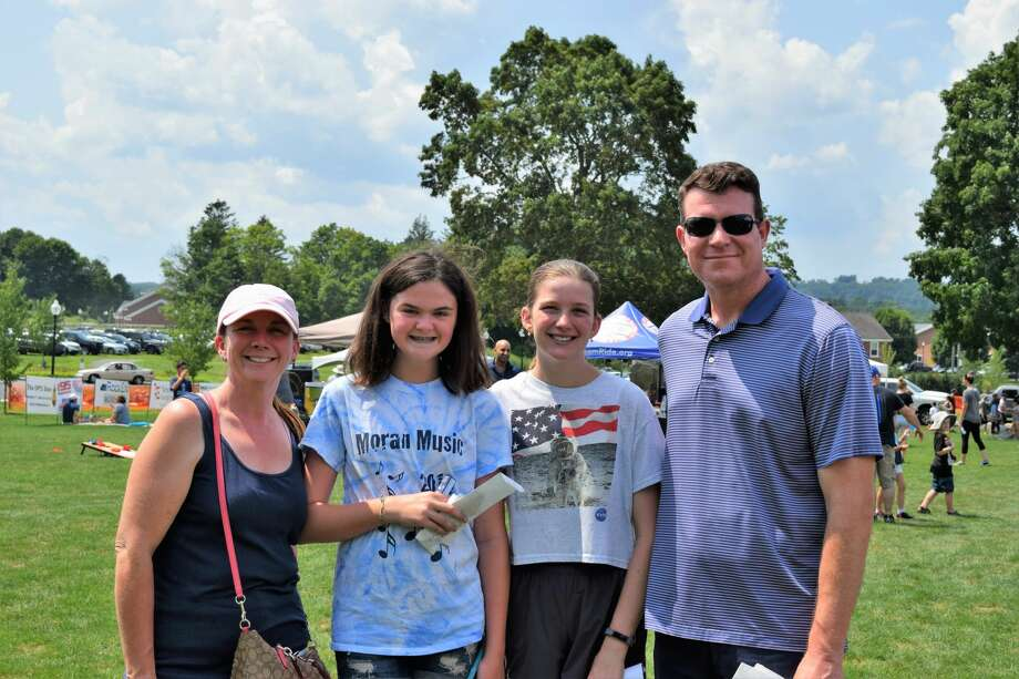 Newtown Day 2019 was held at Fairfield Hills on July 27.  Festival goers enjoyed food trucks, a brew garden serving IPA's, cider, red and white wine, bands, activities and vendors.  Were you SEEN? Photo: Karen Culp Coffey