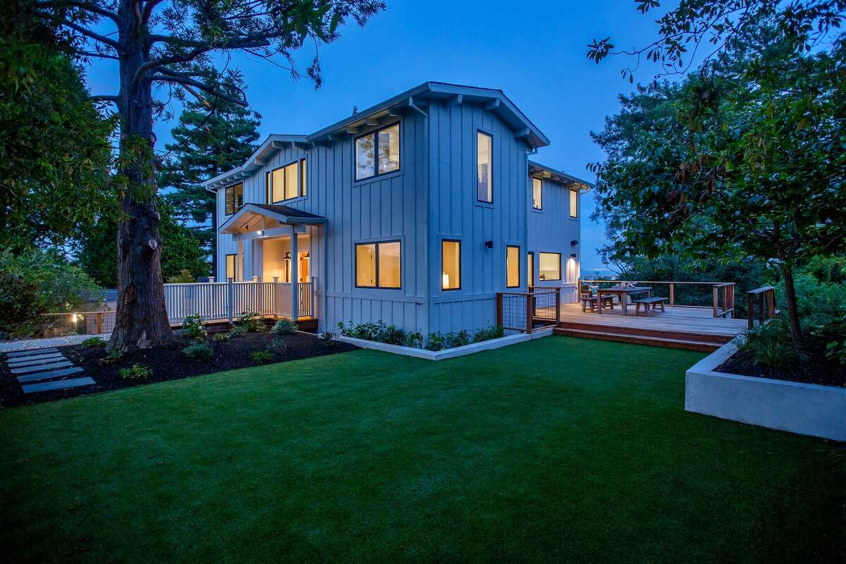 Before and after: This Mill Valley from-the-studs remodel asks $3.750 million.