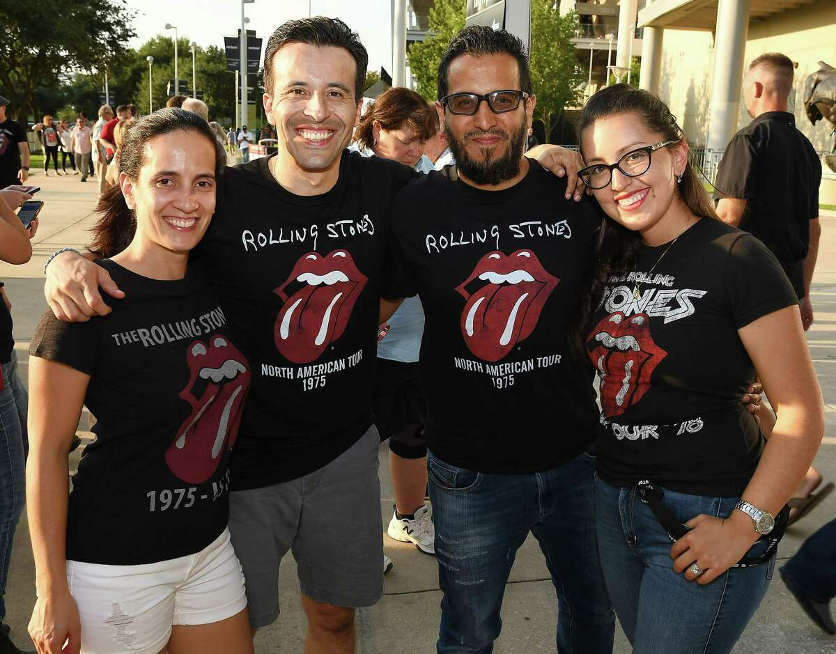 Fans outside the Rolling Stones concert at NRG Stadium Saturday July 27, 2019.(Dave Rossman Photo)