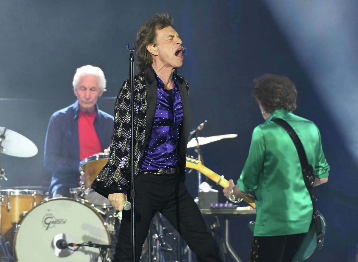 Mick Jagger and the Rolling Stones perform at NRG Stadium during their No Filter Tour Saturday July 27,2019.(Dave Rossman Photo)