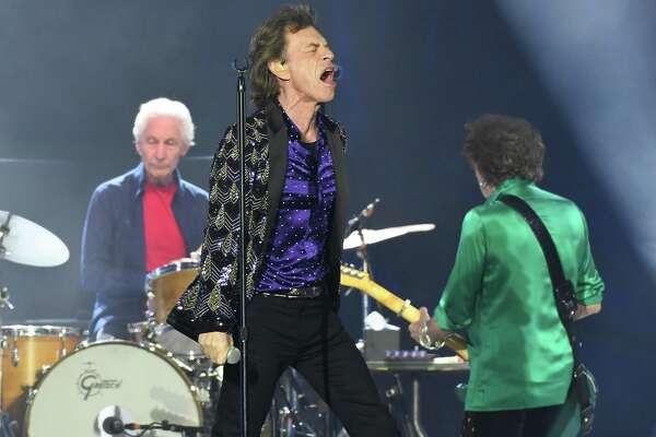 Day after 76th birthday, Mick Jagger and Rolling Stones hit