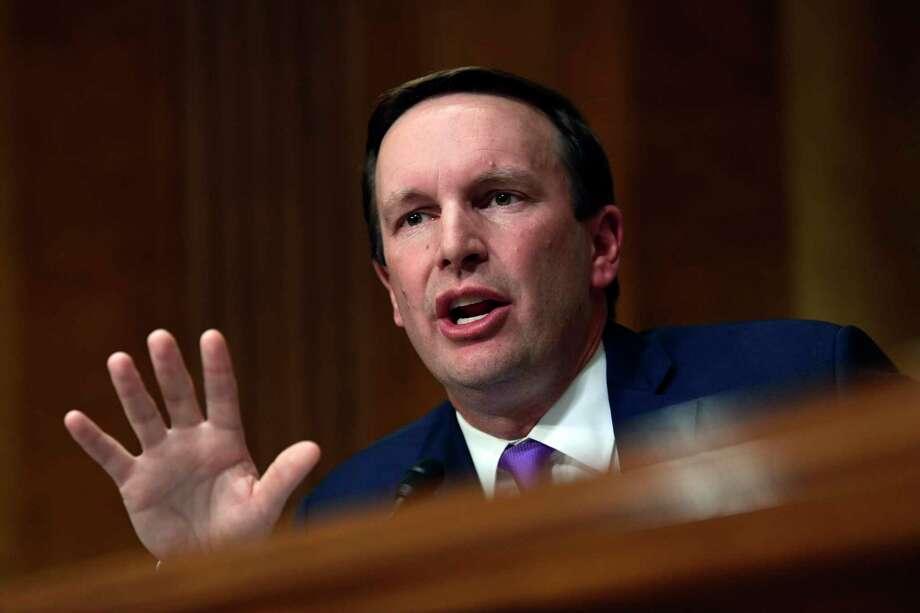 Sen. Christopher Murphy, D-Conn. Photo: Susan Walsh / Associated Press / Copyright 2018 The Associated Press. All rights reserved.