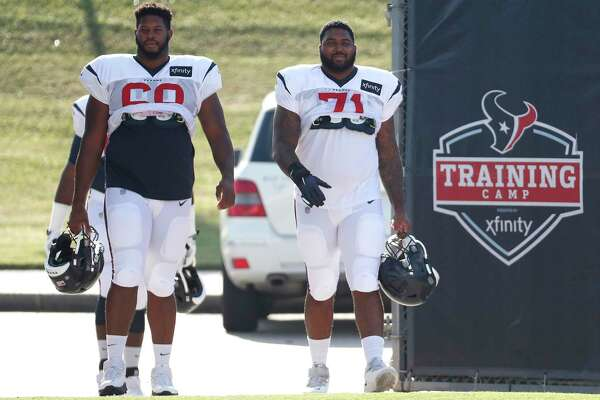 best sneakers be644 3b627 McClain: How Texans are developing Tytus Howard ...