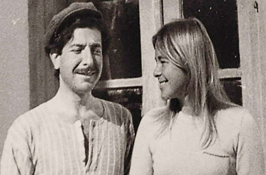 """This image released by Roadside Attractions shows Leonard Cohen and Marianne Ihlen in a scene from the documentary """"Marianne & Leonard: Words of Love."""" (Roadside Attractions via AP) / Roadside Attractions"""