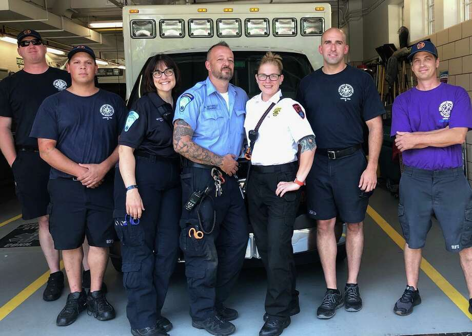 Stratford emergency medical personnelcelebrated a victory in a Facebook postabout an overdose victim who was revived with the medication naloxone on July 28,2019. Photo: Stratford Emergency Medical Services Facebook Page / Contributed
