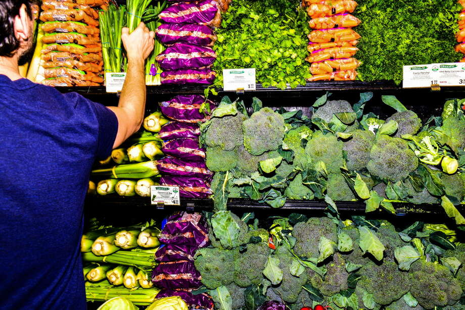 The produce section of a Whole Foods in Gowanus, Brooklyn. Amazon's purchase of the chain in June 2017 catapulted it to near the top of the $700 billion grocery industry. Photo: Dolly Faibyshev For The New York Times