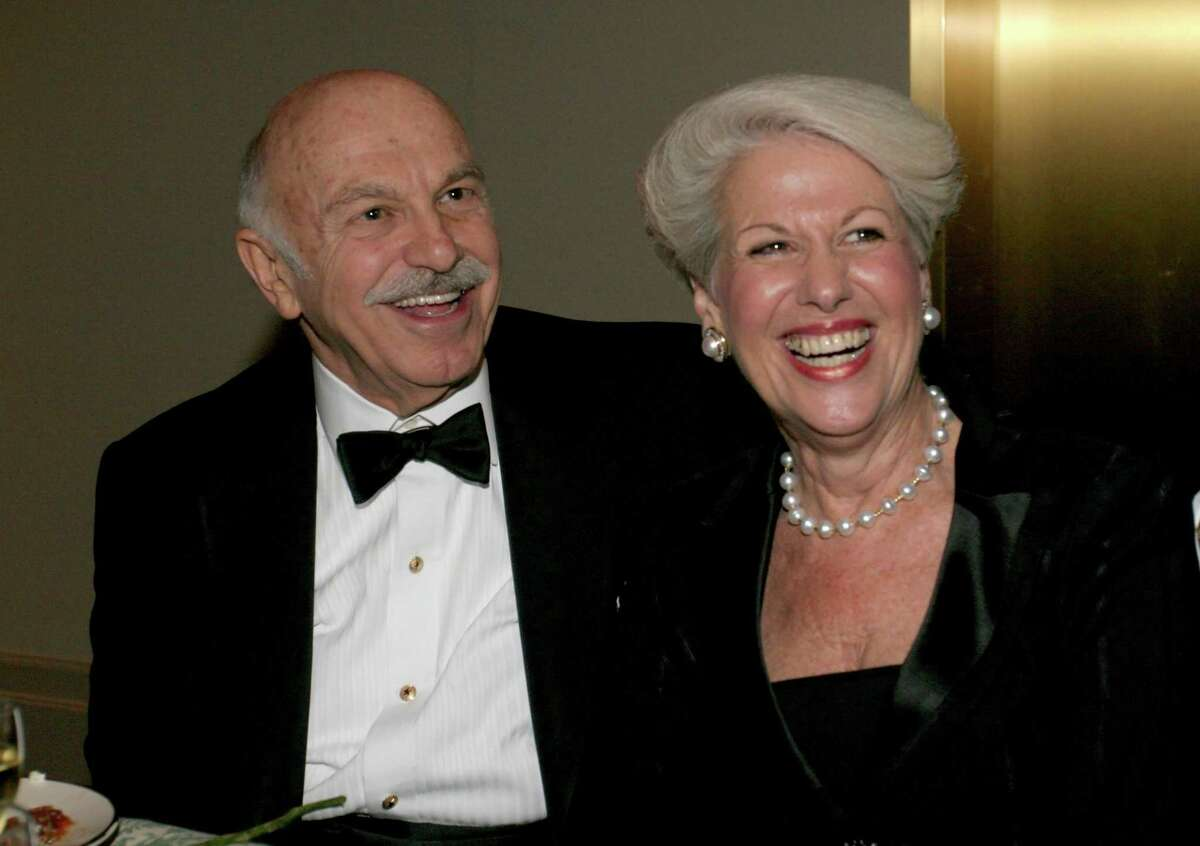 Ed and Lorraine Wulfe at The Houston Symphony gala following the opening season concert on September 10, 2005.