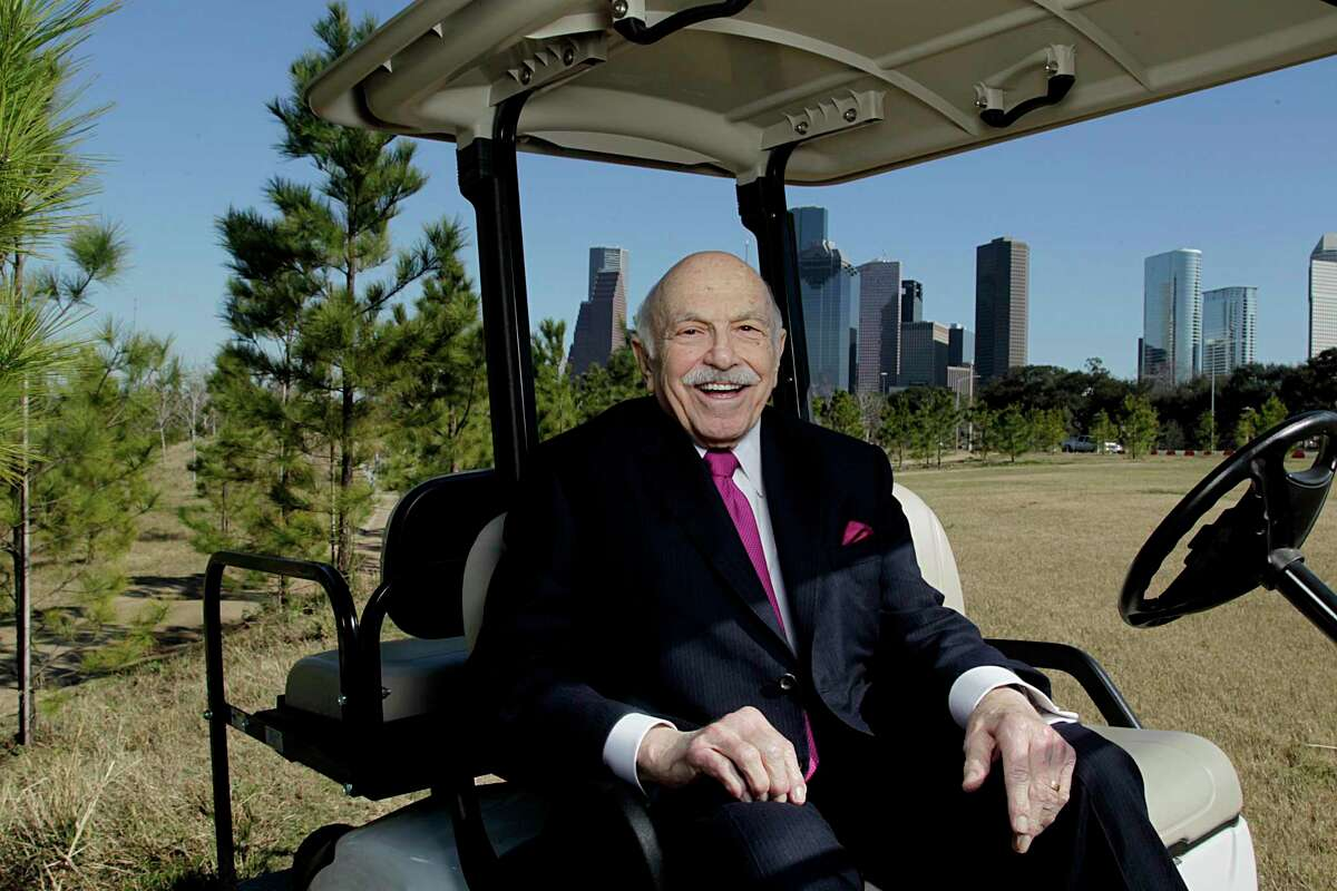 Chairman, CEO and founder of Wulfe & Co., Ed Wulfe poses for a portrait in Buffalo Bayou Park Friday, Feb. 5, 2016, in Houston.