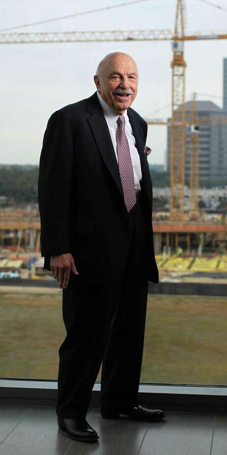 Ed Wulfe is the developer of BLVD Place, being developed at the corner of Post Oak Blvd and San Felipe Streets, Thursday, Dec. 27, 2012, in Houston.