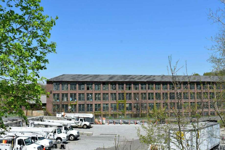 The historic Gilbert & Bennett wire factory in Redding, Conn., in May 2019. Photo: Alexander Soule/Hearst Connectic / Wilton Bulletin