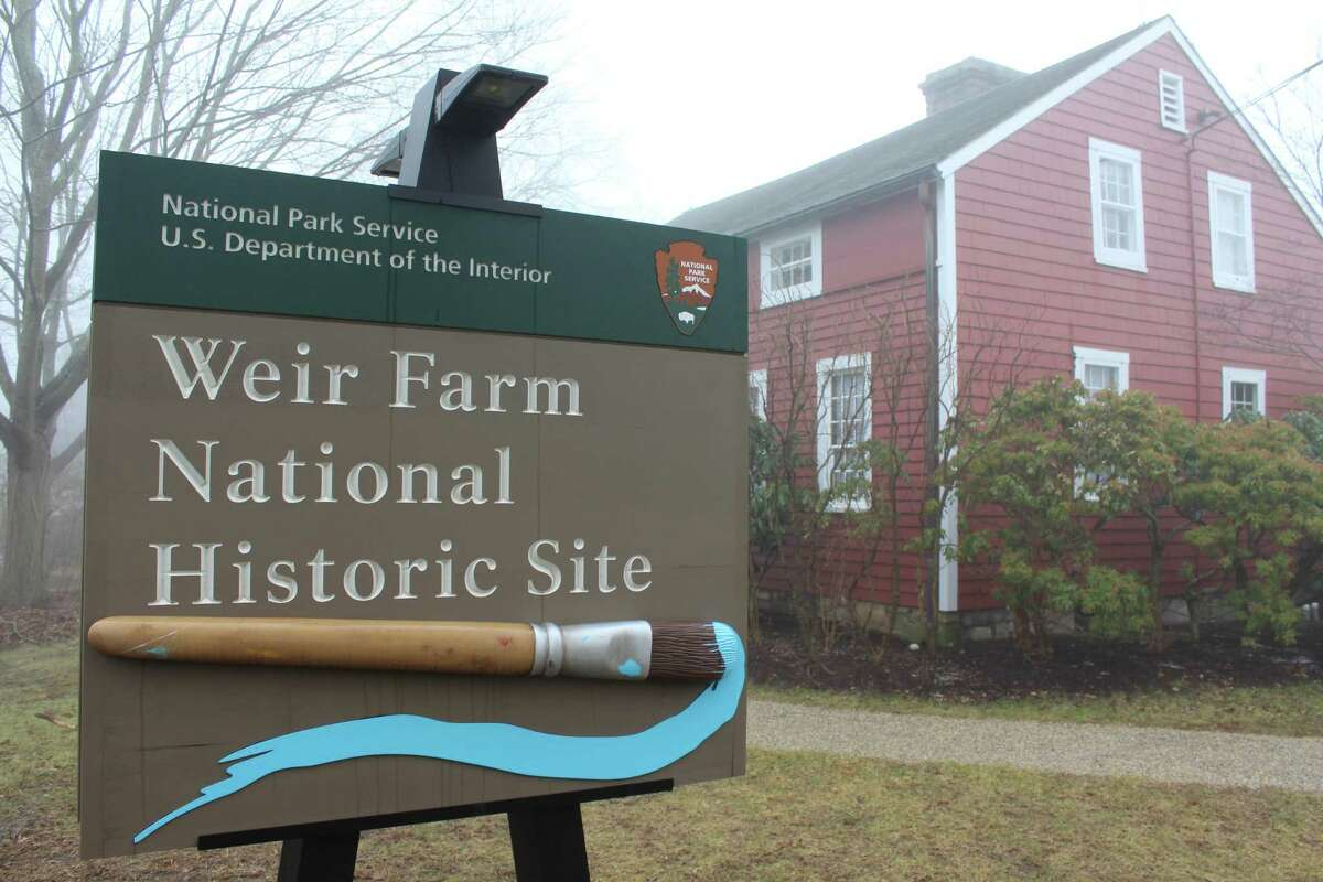 The Weir Farm National Historic Site is one of many sites overseen by the National Park Service that has seen a lapse in services due to the federal shutdown. The site increased its access and hours on Sept. 8, 2020.