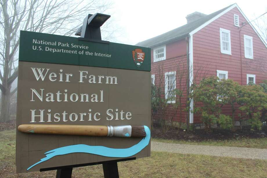 A special Curator's Tour of decorative arts at the Weir Farm National Historic Site will be held Wednesday, Oct 30, 2019. Photo: Pat Tomlinson / Hearst Connecticut Media /