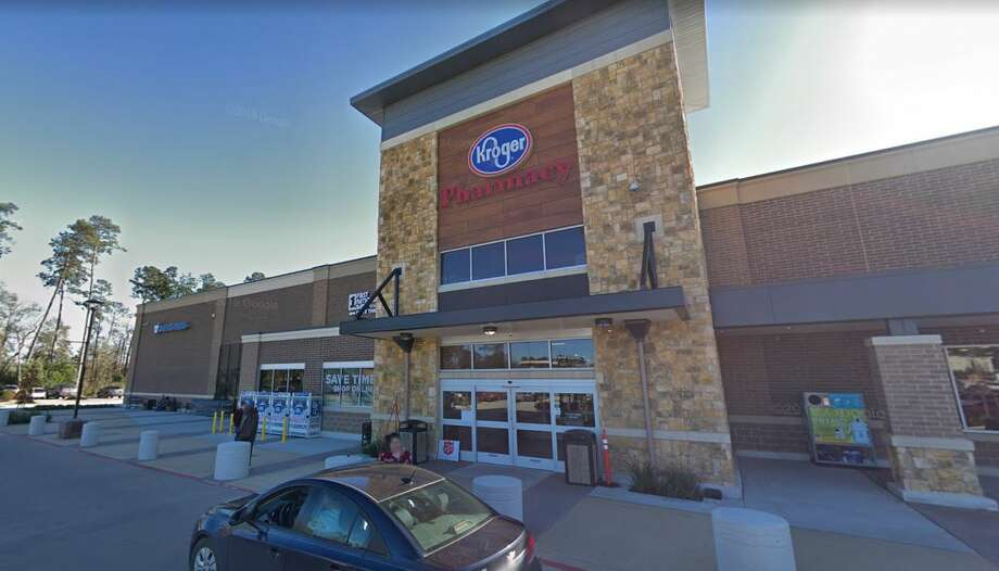A Montgomery County woman is suing a Kroger contractor after she walked into a glass window. Photo: Google