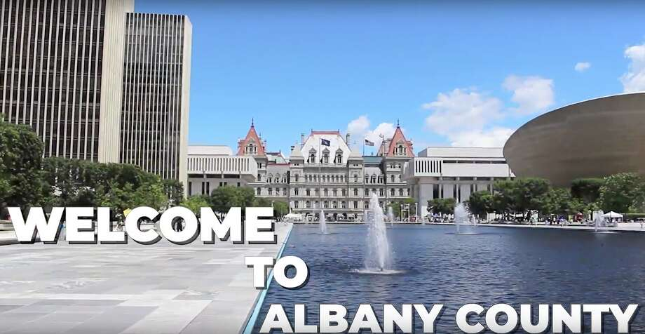 Albany County had SMG, the manager of the Times Union Center, produce a tourism video that will run more than 300 times during local TV news broadcasts, as well as on ESPN, during the month of August 2019 when the Aurora Games is being held. The spots cost $239,115 to produce and run, and was paid for by a public authority connected to the county, the Albany County Capital Resource Corporation. Photo: Courtesy Of Albany County