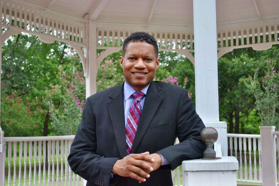 Former Pearland city councilman Derrick Reed is a Democratic candidate for Texas' 22nd Congressional District, currently represented by U.S. Rep. Pete Olson, R-Sugar Land. Photo: Photo By Tyler Johnson