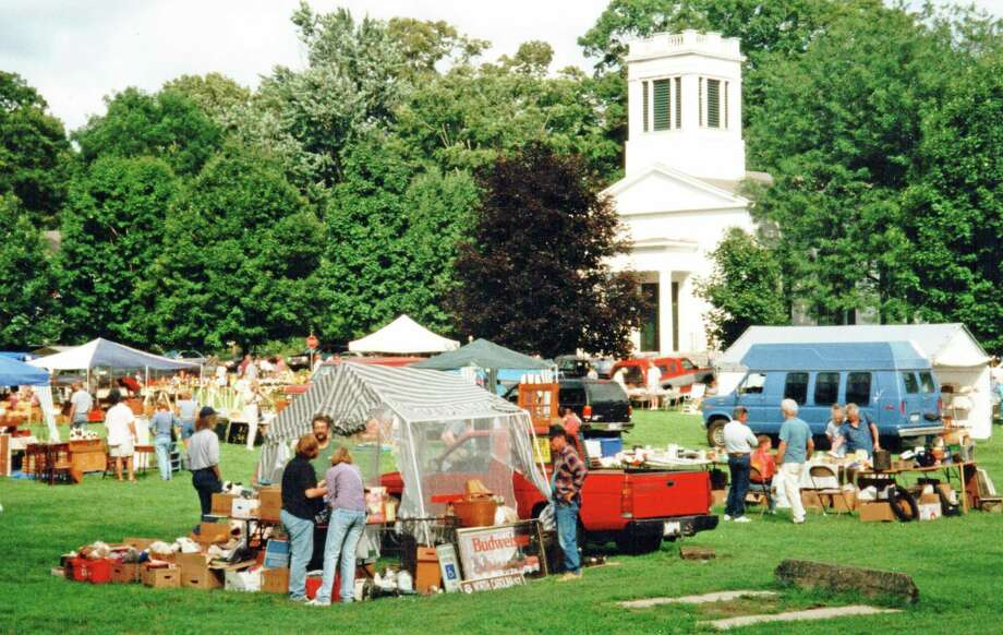 The Deep River Congregational Church will host its annual flea market and rummage sale Aug. 17. Photo: Contributed Photo