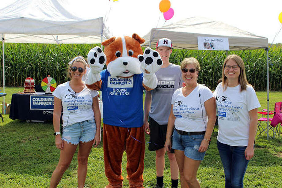 Supporters at a previous Home's Best Friend Adopt-A-Thon. Photo: Courtesy Of Coldwell Banker Brown