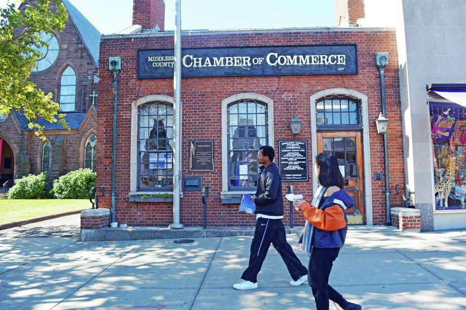 Middlesex County Chamber of Commerce on Main Street in Middletown Photo: Hearst Connecticut Media File Photo