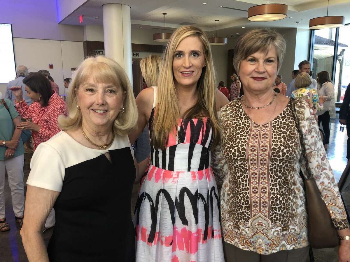 Rhodes: Karen Rhodes, from left, Emily Smith and Rosemary Wright