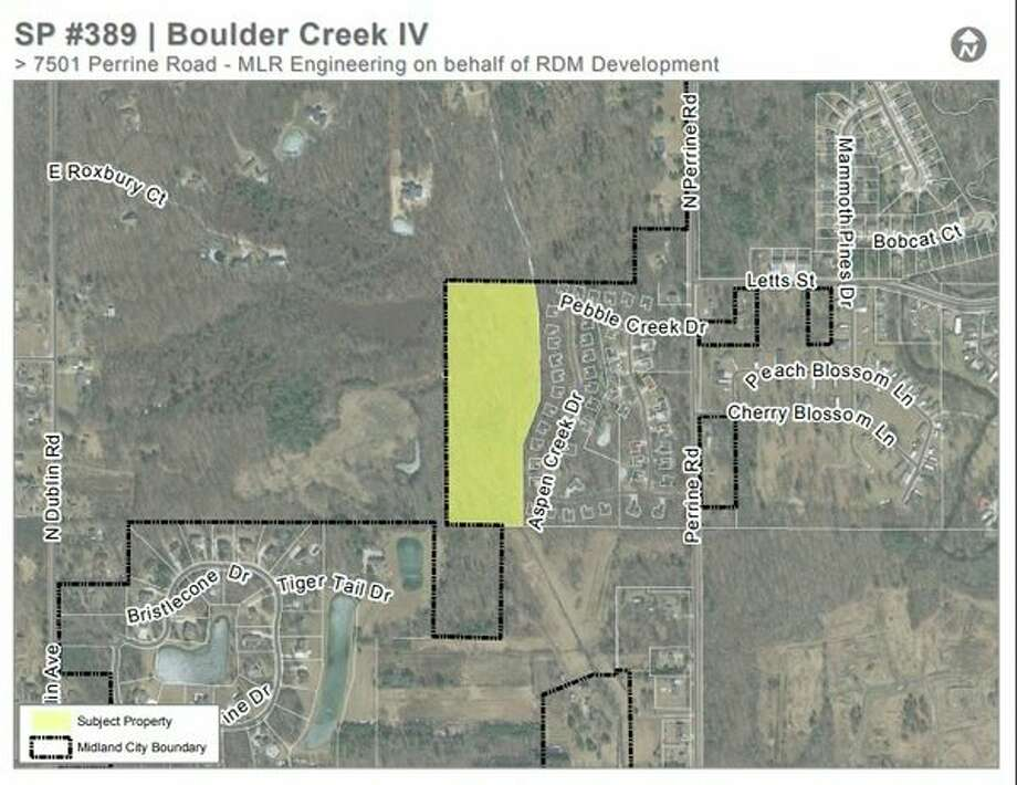 Boulder Creek site map (Photo provided)