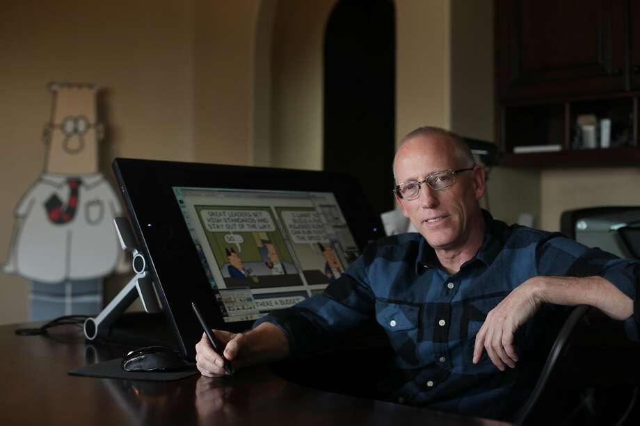 Dilbert creator slammed for promoting app in wake of Gilroy Garlic Festival shooting
