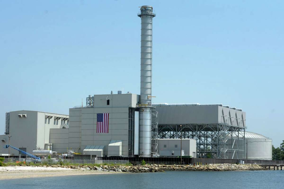 PSEG's Bridgeport Harbor Station Unit #5, the new natural gas-fired power plant now online in Bridgeport, Conn., July 29, 2019.