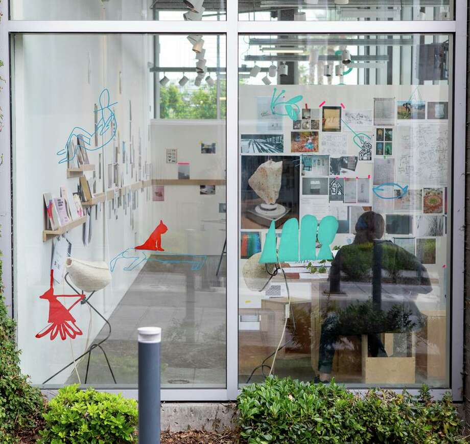 San Francisco architect and interior designer Sarah Hobstetter helped curate an exhibit that's on display at the California College of Arts through July 26. Photo: Nicholas Lea Bruno