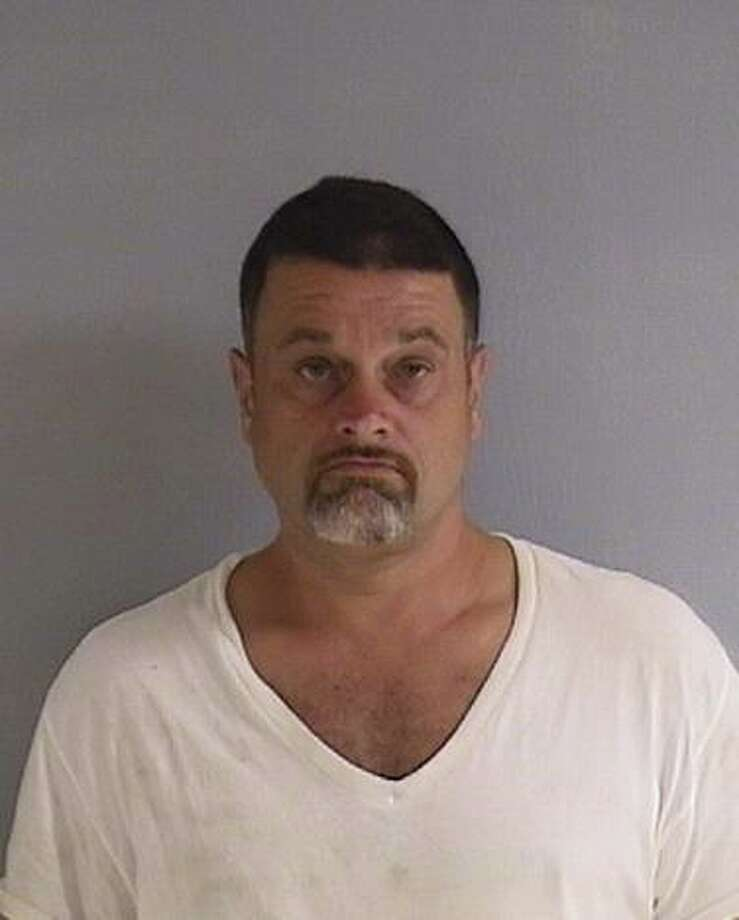 A 48-year-old Waterbury man was arrested and turned over to Orange authorities Saturday night in connection with a theft that occurred at a U-Haul store last summer. Photo: Courtesy Of The Orange Police Department
