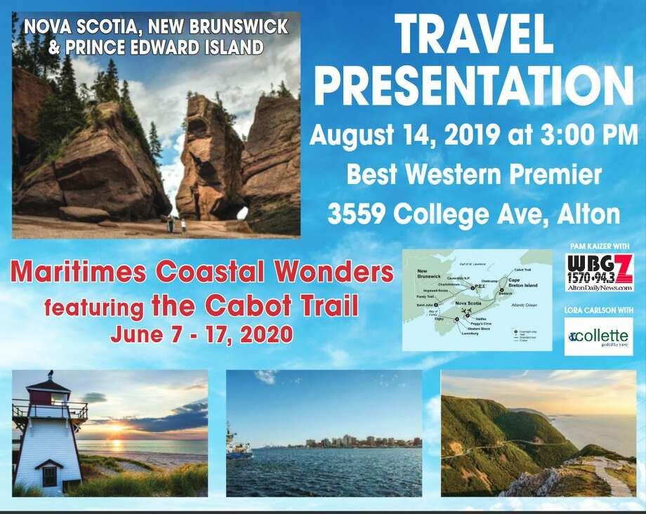Experience Maritimes Coastal Wonders, featuring the Cobot Trail on a once-in-a-lifetime vacation scheduled for June 7-17,2020.