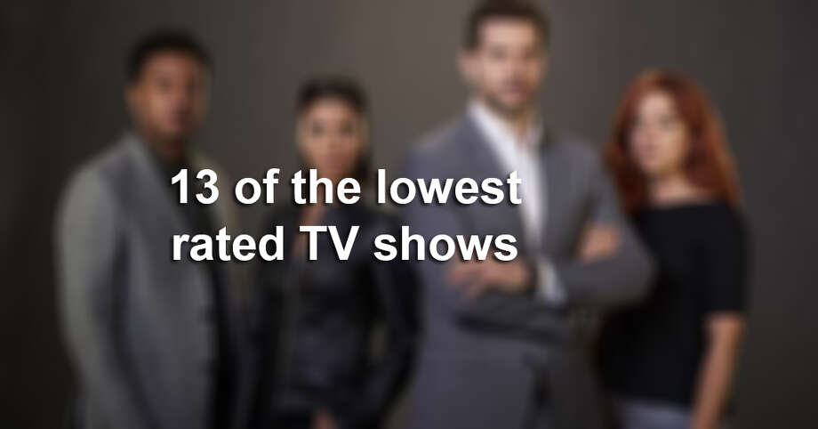 Lowest rated TV shows Photo: CBS