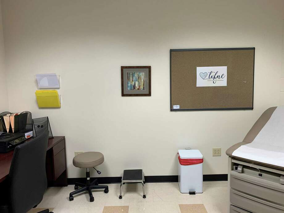 A Texas ForensicNurses Examiners exam room where a victim of sexual assault will be able to have forensic evidence collected. Photo: Courtesy Of The Montgomery County Hospital District