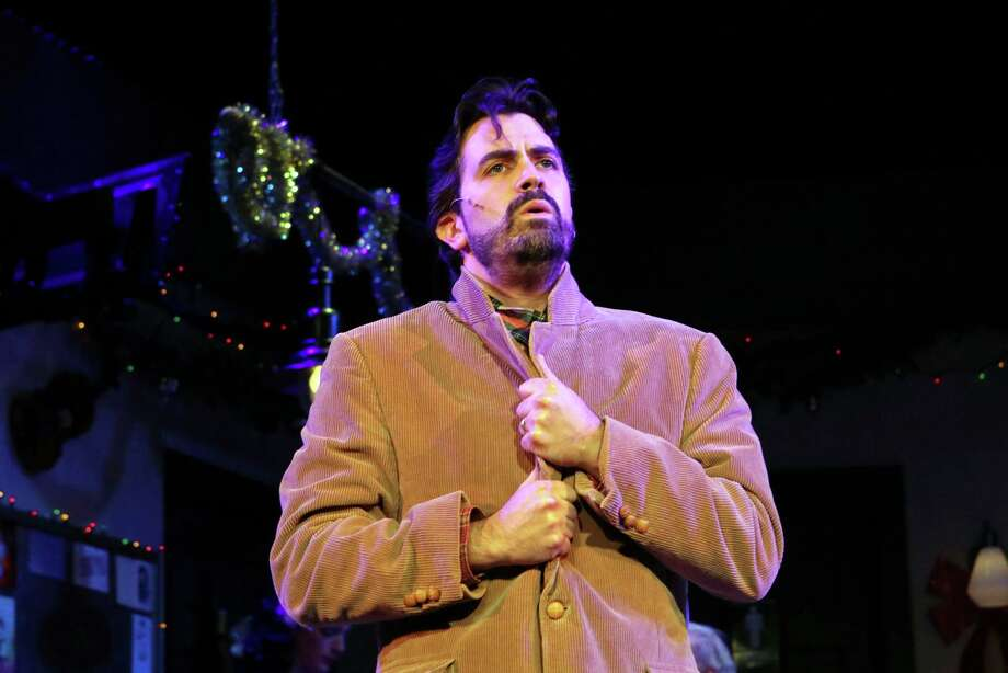 """Michael McDermott is shown in a scene from """"The Bells of Dublin"""" at the Ivoryton Playhouse. Photo: Contributed Photo"""