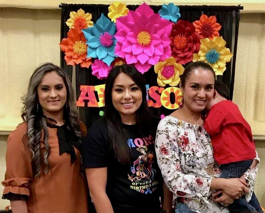 Sisters Maria Sigala, from left, Juanita Dominguez and Martha Negrete all received the Bill Pace Cogdell Scholarship to attend Midland College and University of Texas of the Permian Basin. Photo: Courtesy Photo