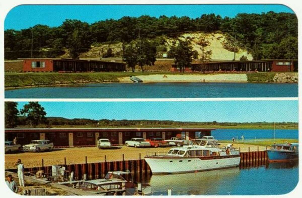 The Moonlite Motel was located by the Joslin Cove condominiums on Arthur Street and are shown in this 1960s photograph.