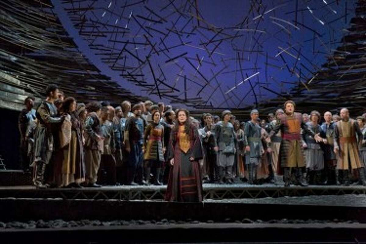 """This week's live simulcast at the Ramsdell Theatre from New York's Metropolitan Opera will feature """"Les Troyens."""" The show will begin at noon. (Courtesy Photo)"""