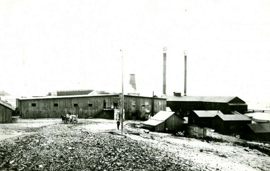 A view of the Canfield and Wheeler mill circa 1880s.