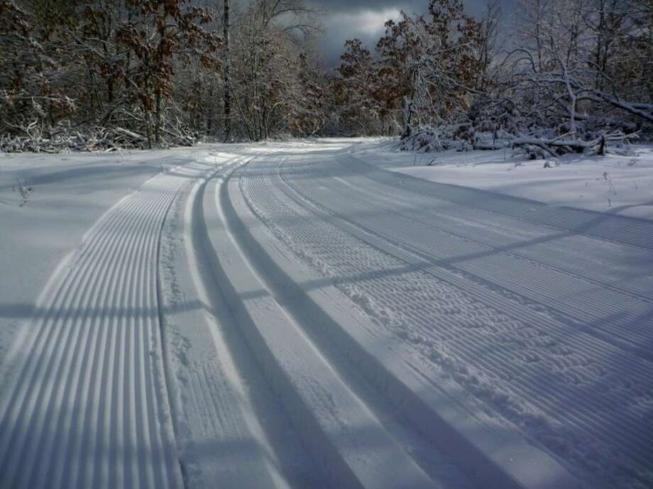 volunteers opened the City of Manistee Non-Motorized Trail Park to make skiing more accessible for Manistee residents.