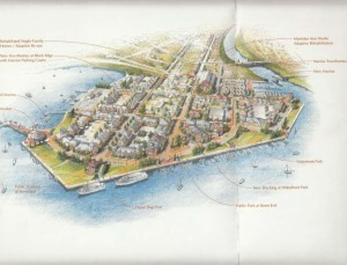 In 2008, the City of Manistee signed an agreement with Ed Seng, hoping to turn the east end of River Street and surrounding streets into a commercial and residential area. Now, Seng wants to revert his property back into a shipping port.