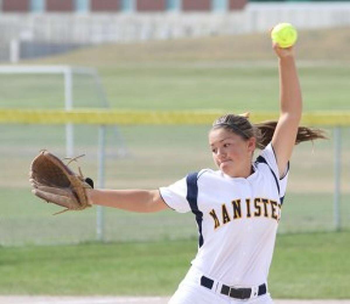 Manistee junior Haley Maser made a pair of trips to Florida during the offseason for national tournaments. (Matt Wenzel/News Advocate file photo)
