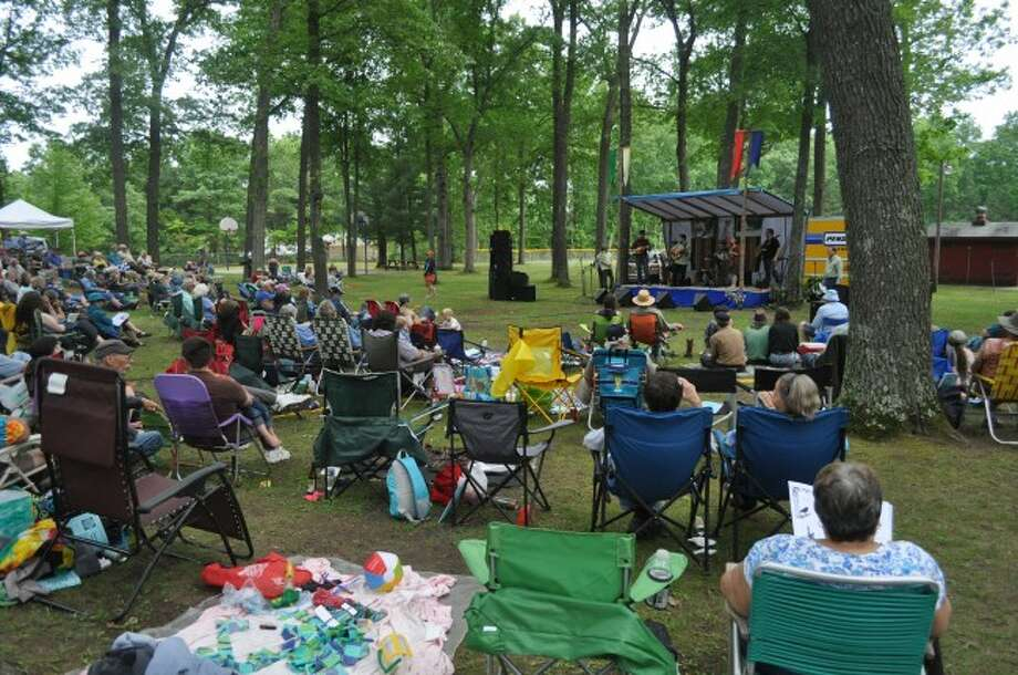 Hundreds of people from Manistee County and elsewhere around Michigan attended the 37th annual Spirit of the Woods Folk Festival on Saturday at the Dickson Township Park in Brethren.