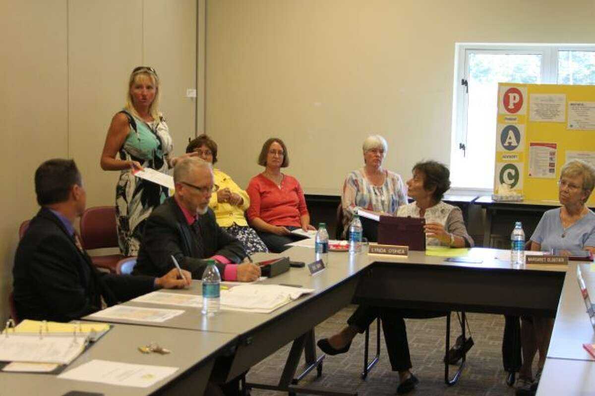 Members of the Manistee Intermediate School District Board of Education were given a report on the 2015-16 audit at Monday's meeting.